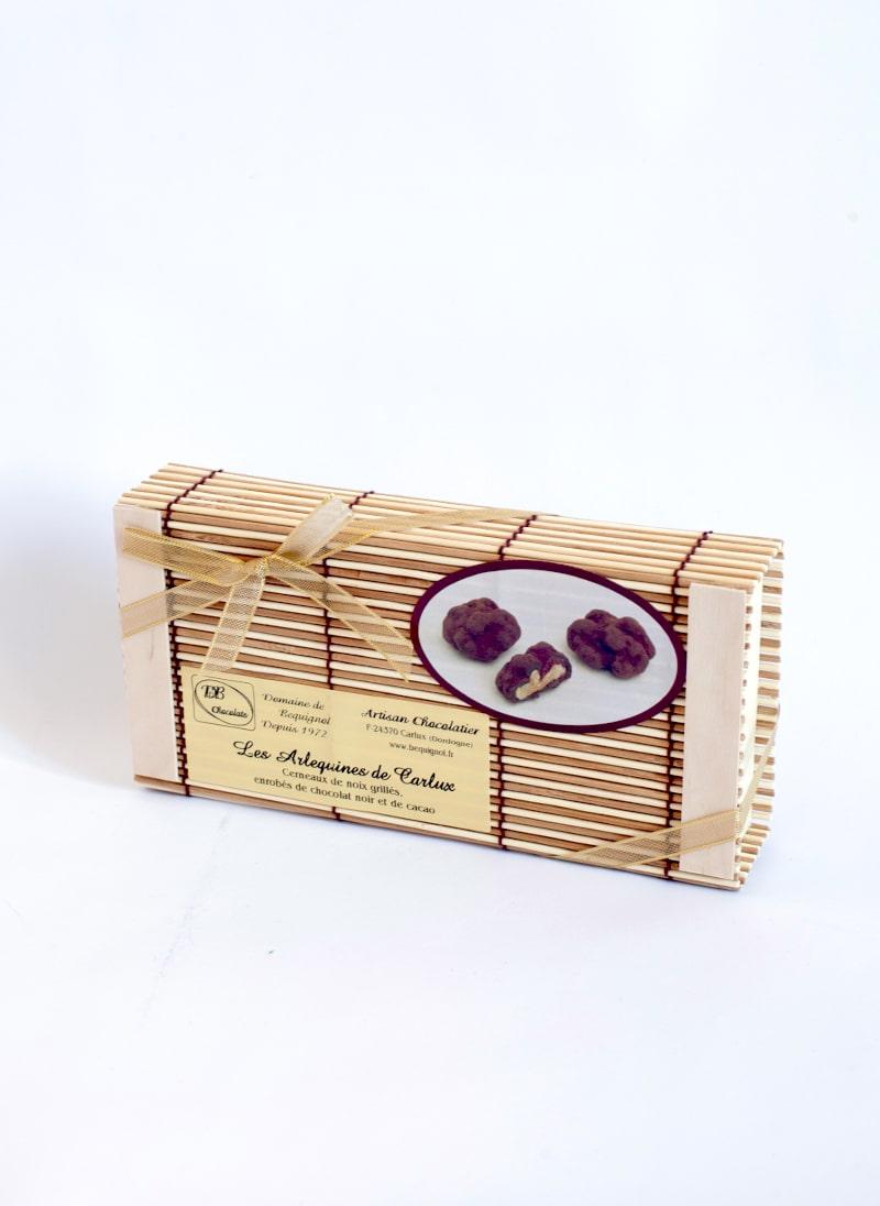Arlequines boîte bambou