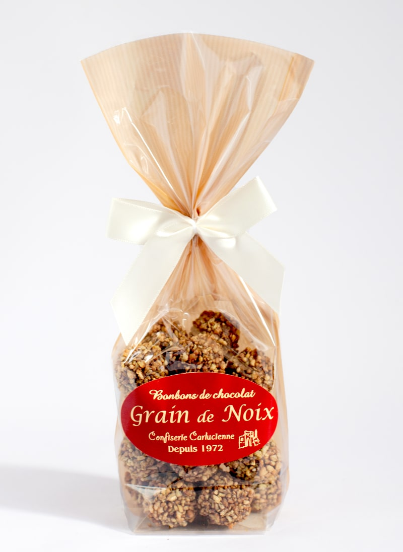 Grain de noix - Walnut and Buckwheat chocolate
